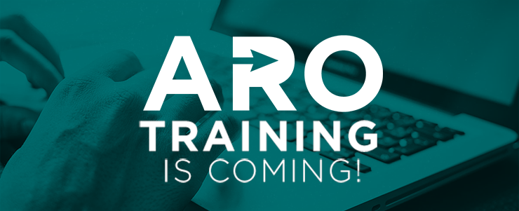 ARO training is coming