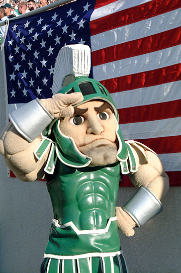 Sparty Salute