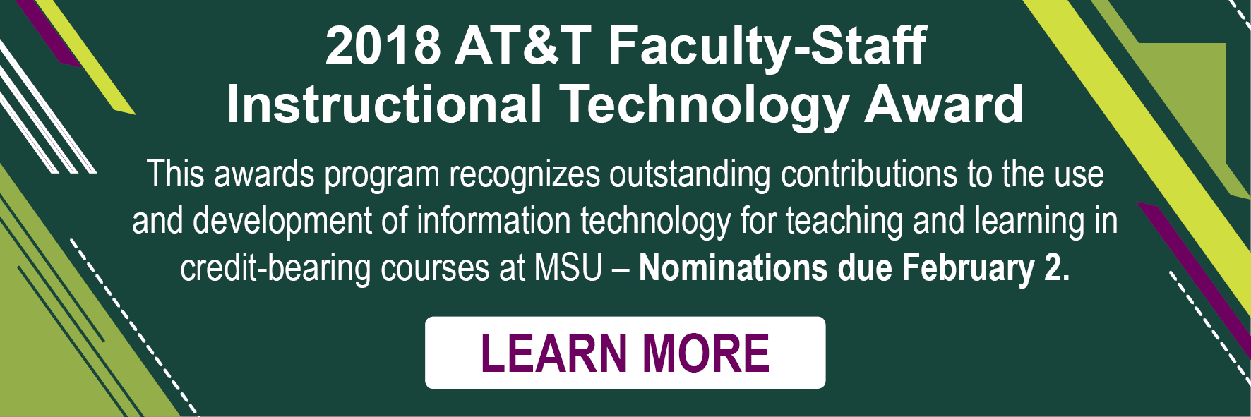 AT & T Instructional Technology Award Nominations