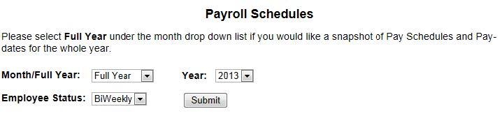HR Form and Time Deadlines for Payroll Processing