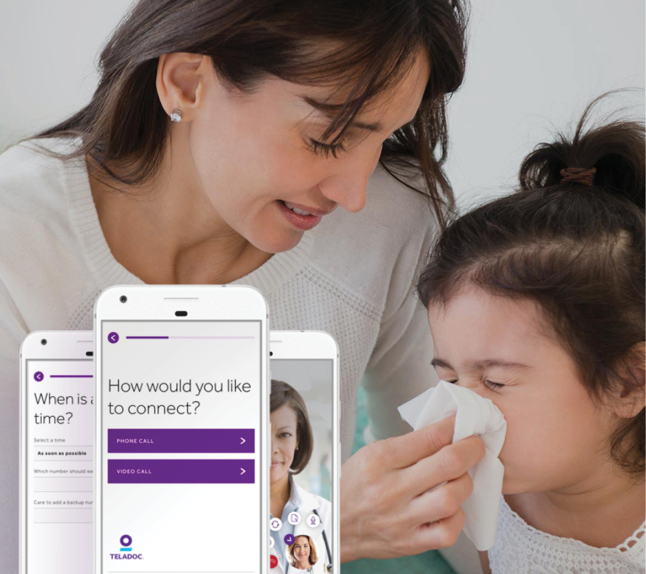 Teladoc for Online Medical Care