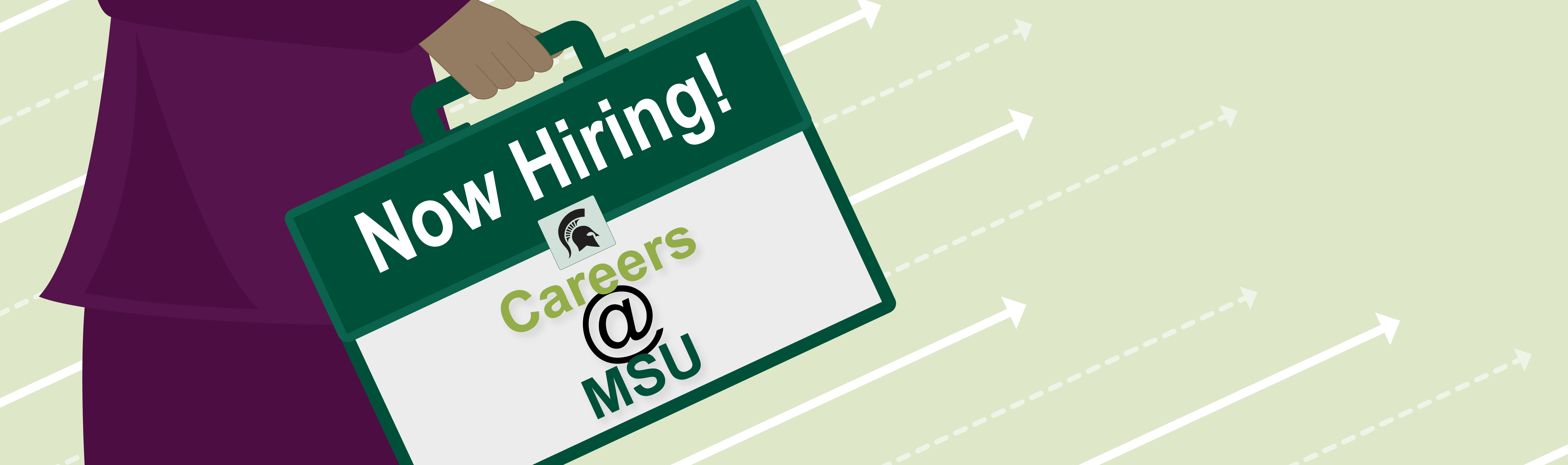 Careers at MSU banner image